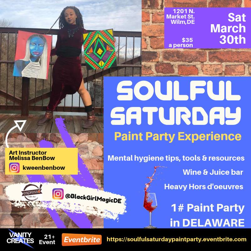 Soulful Saturday Paint Party Experience