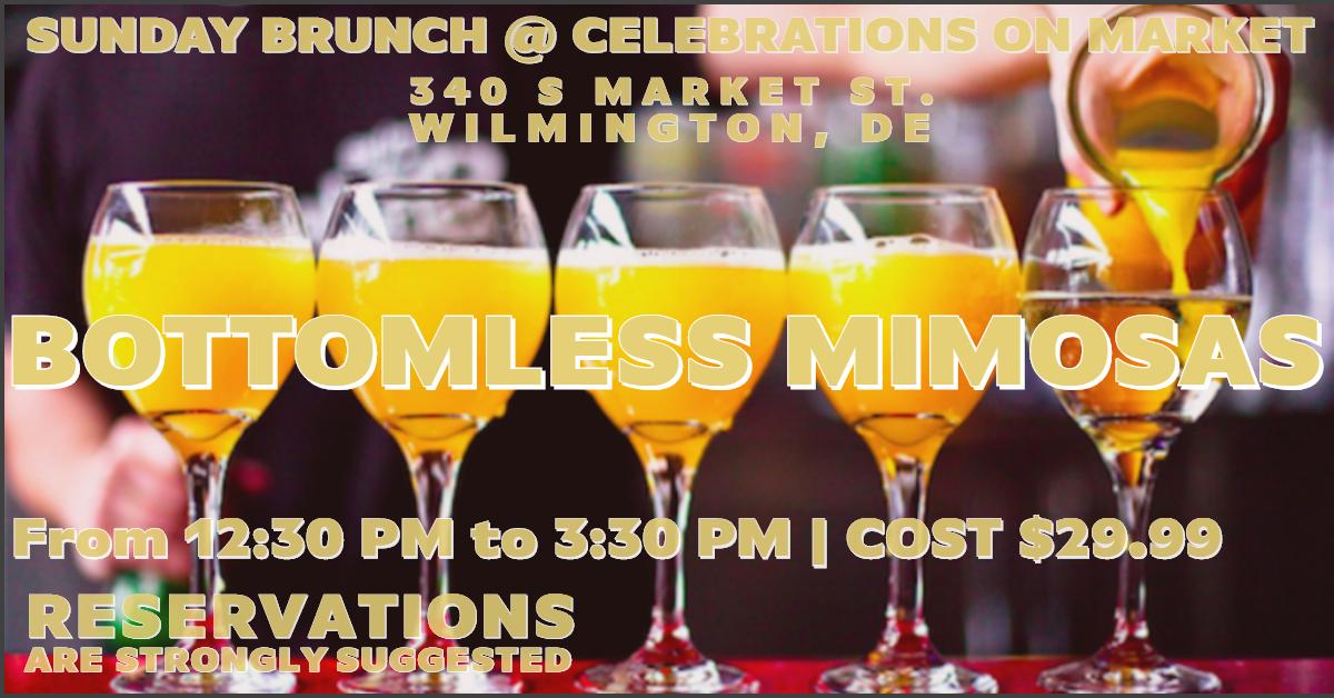 Bottomless Mimosa Sunday