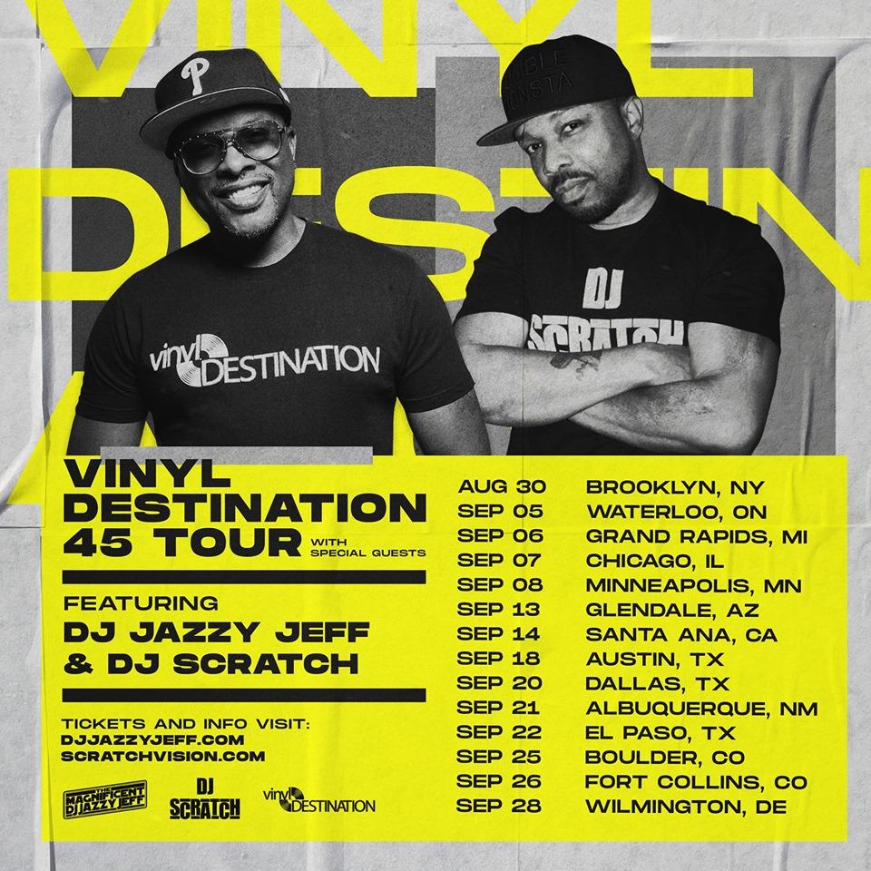 Vinyl Destination Tour