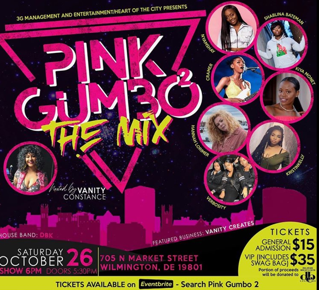 Pink Gumbo 2 - The Mix (Breast Cancer Event)