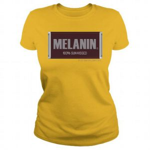 boredinde melanin ladies tee