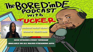 Photo of BOREDinDE Podcast Season 2 Episode 02 – Celeste Jones