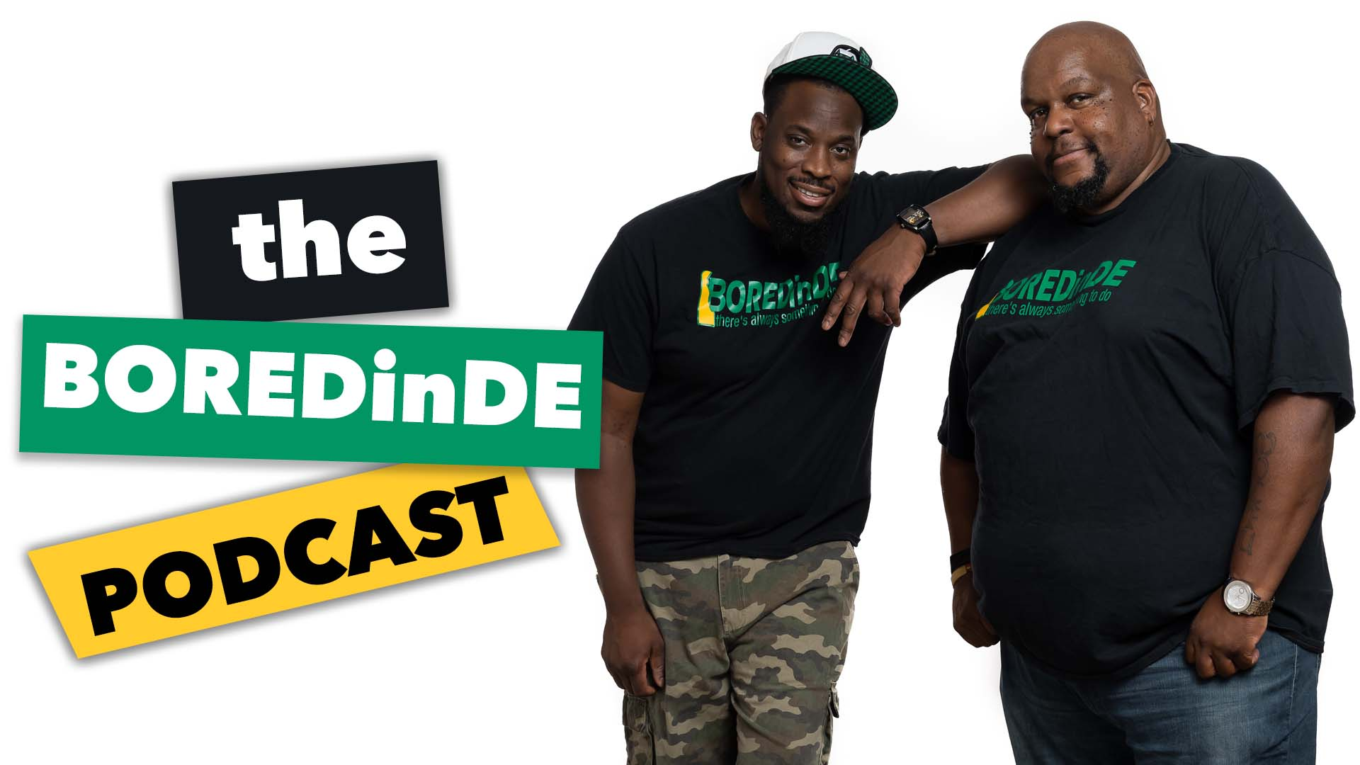 The BOREDinDE Podcast available on all major streaming apps